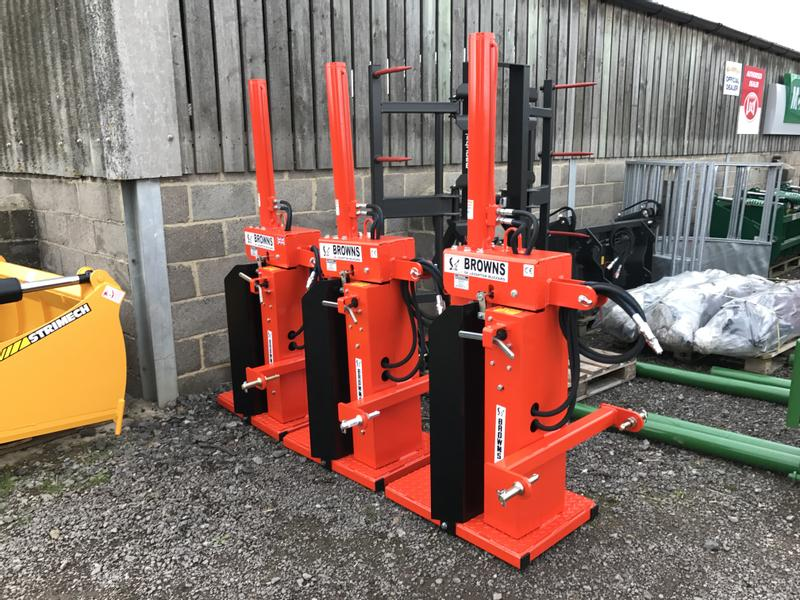 Browns Log Splitter