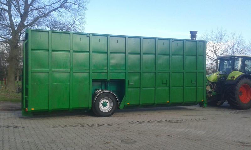 Stapel mestcontainer 55m3