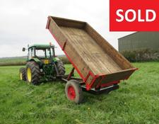 3 Ton Wooden Tipping Trailer