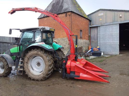 used 2007 2 rows forage harvester VICON MH 180S
