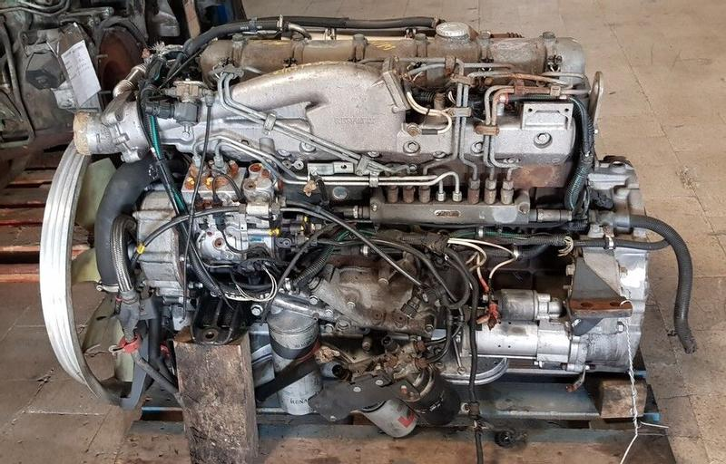 Renault 270 CDI / DCI6 01 - Engine DCI6 / 270CDI