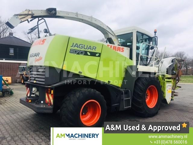 Claas Green Eye - Speedstar - Jaguar 870-4WD