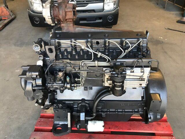 Perkins 6 cylindros Turbo - Engine 1006-60T